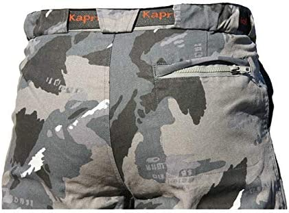 KAPRIOL SECHURA Gray Work Trousers with reinforcement