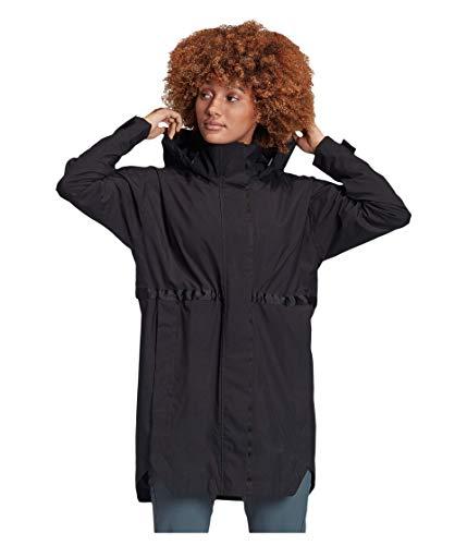 adidas Urban Parka para mujer, Mujer, Chaqueta, FI0636, negro, large
