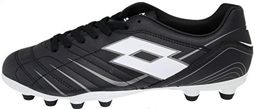 Lotto Proxima II FG Fussball Schuhe Soccer (40.5 EU, Schwarz)