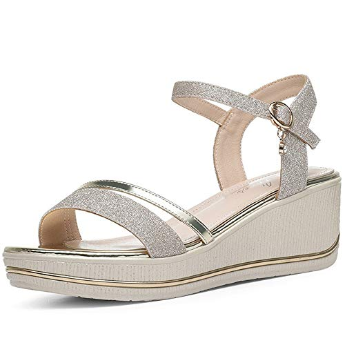 Women's Wedge Heel Minimalist Sandals Summer New Student Women's Shoes