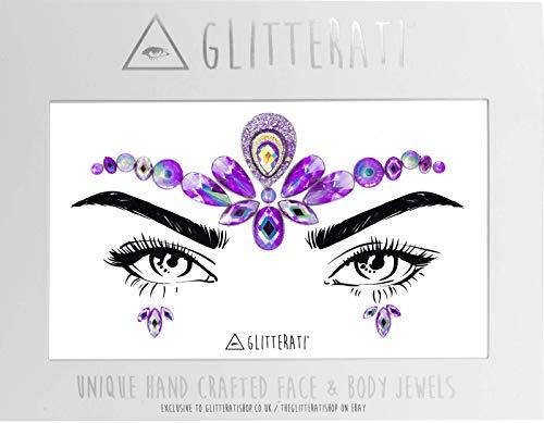 Glitterati Oracle - Gezicht & Lichaam Gems Juwelen Lijm Set voor Festivals Glitter