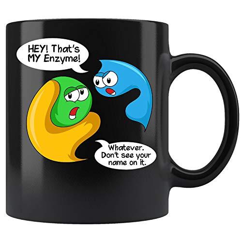 Funny Biology Pun Biologist Microscope Laboratory Coffee Mug 11oz Tea Cup