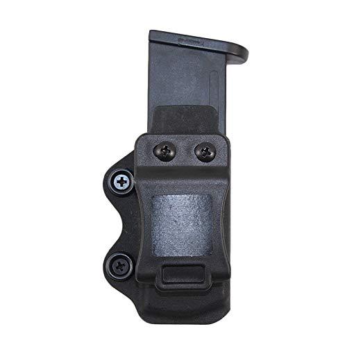 Gexgune Tactical IWB Magazine Pouch Case für Glock 17 19 23 26 27 31 32 33 Airsoft Pistol Mag Holster Case Schneller Schnellverschluss für die Jagd