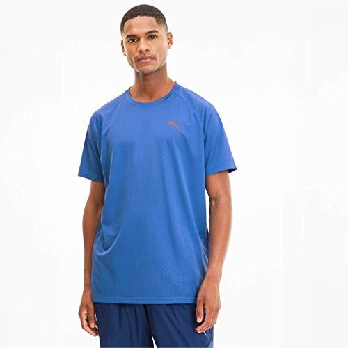 PUMA Herren T-Shirt SS Tech Tee, Palace Blue, L, 518389
