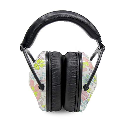 Kinder Schallisolierende Ohrhörer Sport Kopfhörer Kreis Blume Serie Lärm Reduktion Schlafschutz Kopfhörer