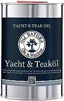 OLI-NATURA yacht e olio di teak (olio di legno per la protezione di legni duri ed esotici nell'area esterna), natura