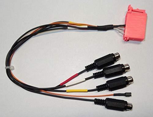 Blaupunkt Vorverstärkeradapter Line-Out ISO - 7607 855 094
