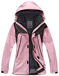 BEESCLOVER New Winter 3 in 1 Kids Hiking Jackets Children Boys Girls Outdoor Windproof Warm Two-Piece Coat Travelling Hiking 110-160