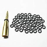 Scott Edward Dart Shaft 2BA Schraube Gummi O Ring, 100 Stück, schwarze Farbe