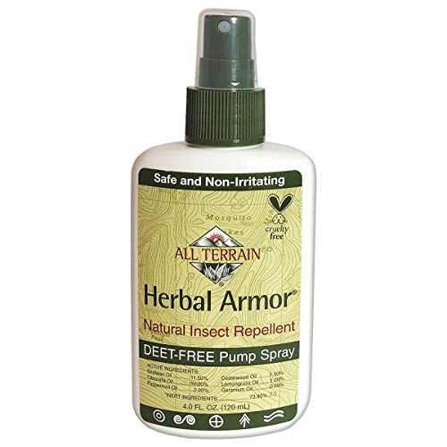 All Terrain Herbal Armor Natural DEET-free Insect Repellent, Pump Spray, 4 Ounce