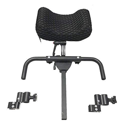 CANDYANA Nackenstütze Rollstühle Kissen Kopfpolsterung Rollstuhl Kopfstütze Aluminiumlegierung Kopfstütze Einstellbereich 350Mm-500Mm