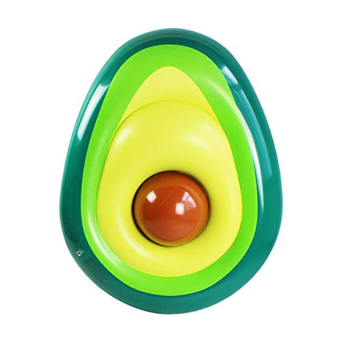 Opblaasbare Avocado Pool Float Met Bal Water Hangmat Lounge In het strand Zwembad Hangmat Float for volwassenen & Kids