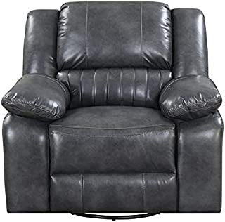 Best pemberly row leather swivel recliner Reviews