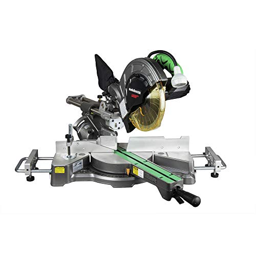 Metabo HPT Sliding Compound Miter Saw, 8-1/2-Inch Blade, Laser Marker, LED Light, 9.5 Amp Motor, Adjustable Pivot Fence, 5 Year Warranty (C8FSHES)
