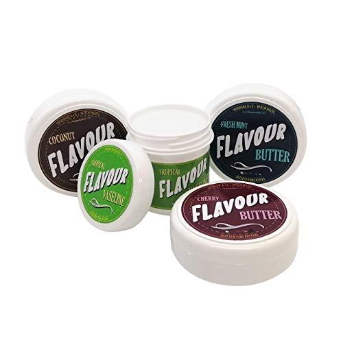 FLAVOURTATTOO Kit Butter FRESH MINT + COCO + CHERRY (50ml) + VASELINA TROPICAL 75ML para tatuaje
