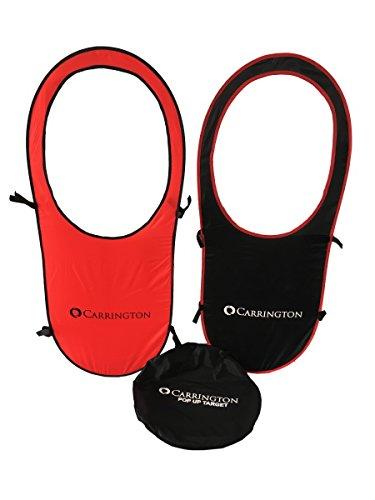 Carrington Blanco **Entrenamiento Tenis** Siluetas POPUP Target- 2 Unidades- Accesorio Ideal para Entrenamiento de Tenis