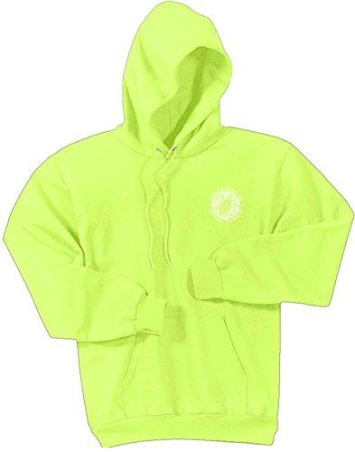 Koloa Hawaiian Turtle Logo Hoodies-Hooded Sweatshirt-Neon.Yellow-2XL