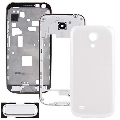 Hnghvh Reemplazo de la Cubierta de la Placa Frontal de la Carcasa Completopara Samsung Galaxy S4 Mini / i9195 / i9190