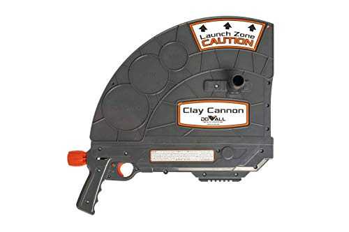 """Do-All Outdoors Clay Cannon Clay Pigeon Handheld Thrower, CC001, Grey, 17.5"""" x 18.25"""" x 3"""""""