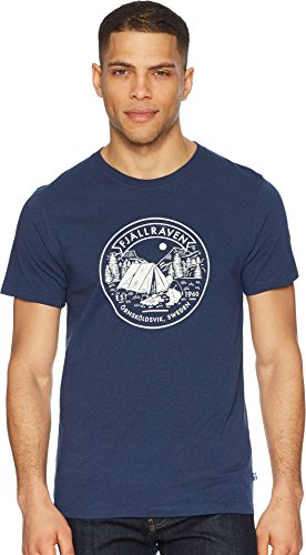 Fjallraven Lägerplats T-Shirt Mens, Navy, XXL