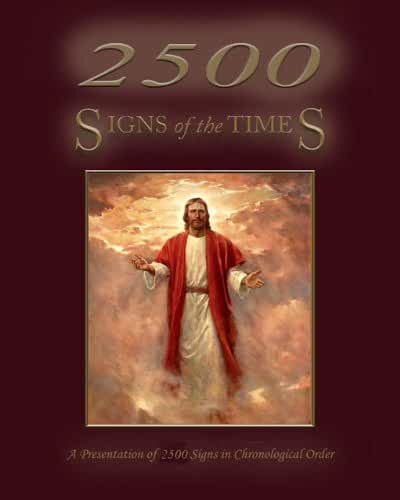 2500 Signs of the Times in Chronological Order (English Edition)