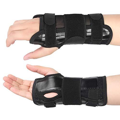 Muñequera y ortesis de mano con férula extraíble, alivio del dolor del túnel carpiano, esguinces y tendinitis, para aliviar el dolor