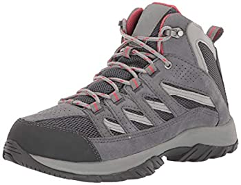 Columbia Women s Crestwood Mid Waterproof Hiking Boot Shoe Graphite Daredevil 7 Regular US