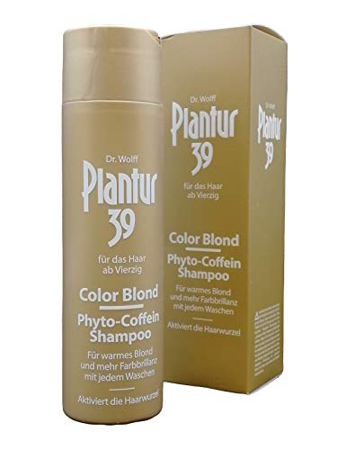 PLANTUR 39 Color Blond Phyto-Coffein-Shampoo 250 ml