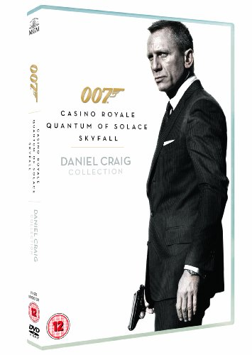 Casino Royale/Quantum Of Solace/Skyfall (3 Dvd) [Edizione: Regno Unito] [Edizione: Regno Unito]