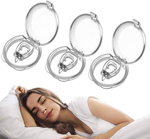 3 Stks Snurkstop AntiSnurkapparaten Neusdilatator Slaapapneu Voor Het Stoppen Van Snurken Neusklem AntiSnurkapparaten Oplossing Geschikt Voor Snurken of Harde Ademhalingshulpmiddelen