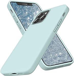 【VOLLSTÄNDIGER KÖRPERSCHUTZ】Die weiche, flüssige silikon hülle für iPhone 12 Pro Max verfügt über einen 360 ° -Körperschutz für das gesamte Körperfaser-Polster, stoß- und kratzfest im Gebrauch. Die erhöhten Gehäusekanten der Kamera und des Bildschirm...
