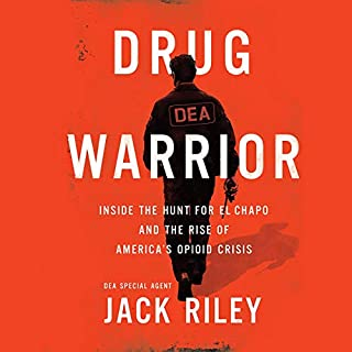 Drug Warrior audiobook cover art