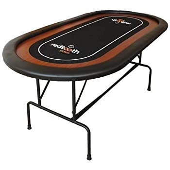 Redtooth Poker 8 Seat Speed Cloth Poker Table with Foldable Legs and Carry Case