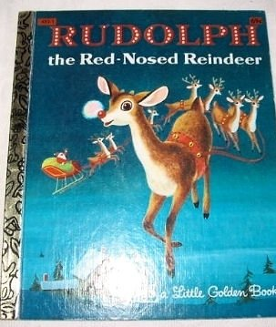 Rudolph, the Red-nosed Reindeer, By Barbara Shook Hazen, From Story By Robert May, Pictures By Richard Scarry, Little Golden Book, C1954, C1976, 27th Printing, 1980