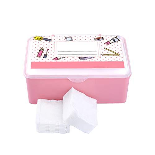 600 PC de papel de algodón Cuidado de toallas desechables Cara viajes toallitas de limpieza de maquillaje facial de la piel almohadillas de algodón paño de belleza