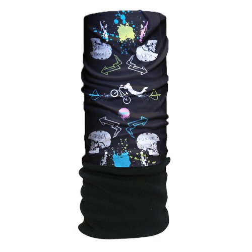 HAD Head Accessoires Original, Go Hard Fleece/Black Jm, One size, HA210-0285
