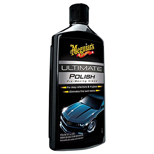 Meguiar\'s G19216EU Ultimate Polish Hochglanzpolitur, 473 ml
