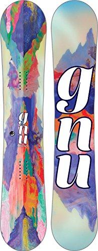 Gnu Damen Freestyle Snowboard B-Nice Reflect 142 Btx