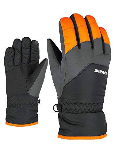 Ziener Kinder Lando Glove junior Ski-Handschuhe/Wintersport, new orange, 3 (XS)