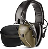 awesafe Electronic Shooting Earmuff [ Comes with Hard Travel...