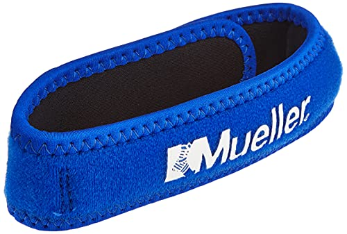 Mueller 993EU Cincha Rotuliana Unisex Adulto Azul Talla única