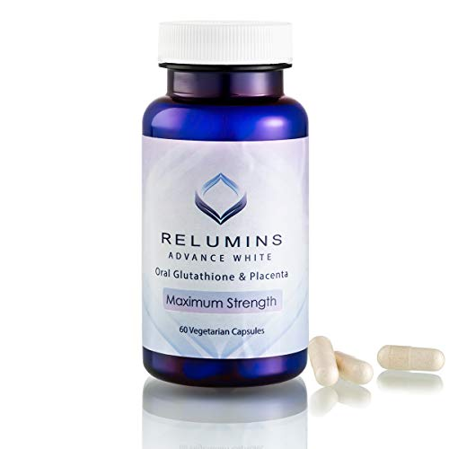 Relumins Advanced White Oral Glutathione Whitening Formula Capsules-max Strength New and Improved Now with Rose Hips