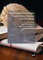 Dictionnaire historique des juristes français, XIIe-XXe siècle
