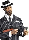Funidelia   Ametralladora de gángster para Hombre y Mujer ▶ Años 20, Cabaret, Charleston, Décadas - Negro, Accesorio para Disfraz
