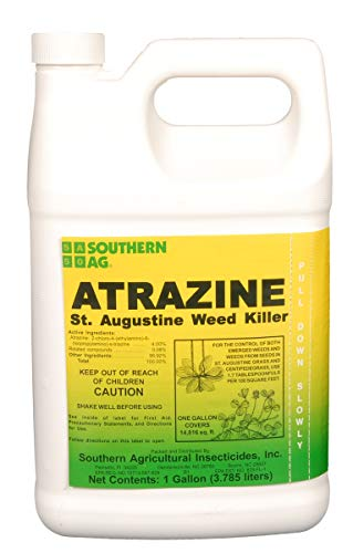 Southern Ag Atrazine St. Augustine Grass Weed Killer, 1 Gallon