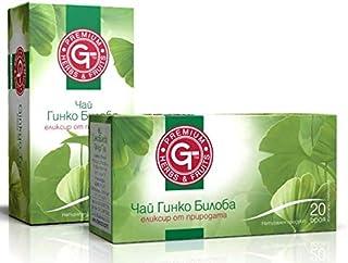 Té de Ginkgo Biloba Elixir of Nature 20 bolsitas de té