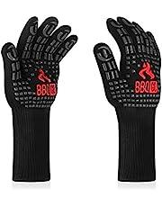 Inkbird BBQ Handschoenen 800 Graden, Siliconen Structuur met Anti-slip Hittebestendige Grill Handschoenen voor BBQ, Koken, Bakken, Lassen en Roken,35cm