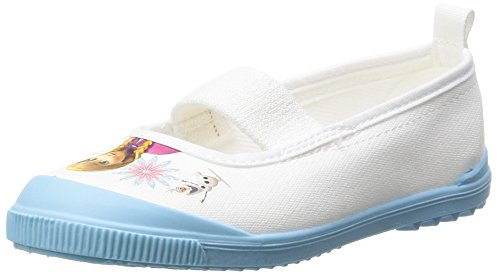 [ディズニー] 上履き 日本製 アナと雪の女王 14~19cm 女の子 キッズ アナユキバレー01 サックス 17.0 cm 2E