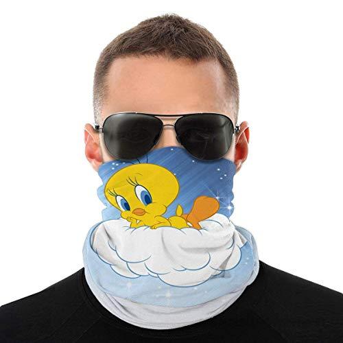 Tw-Eety Bird Face Cover Bandanas Seamless Head Scarf Breathable for Man Women