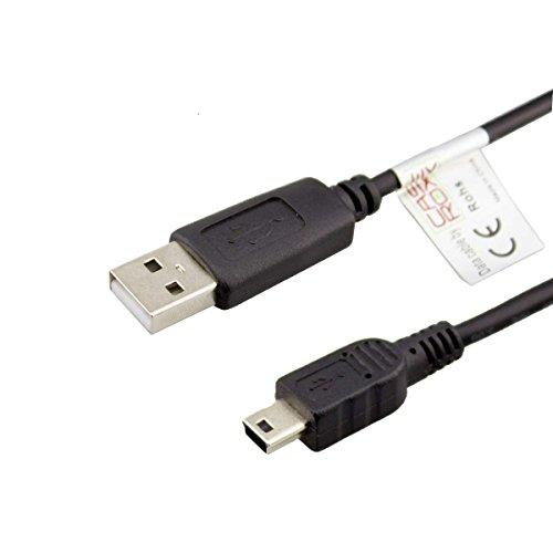 caseroxx USB-Kabel, Datenkabel für Ravensburger TipToi, USB-Kabel zur Datenübertragung Synchronisierung in schwarz